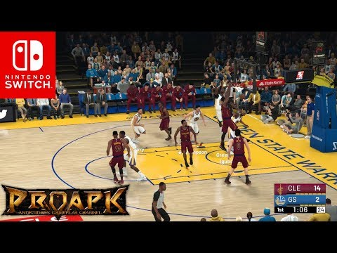 [Nintendo Switch] NBA 2K19 Gameplay (by 2K Games)