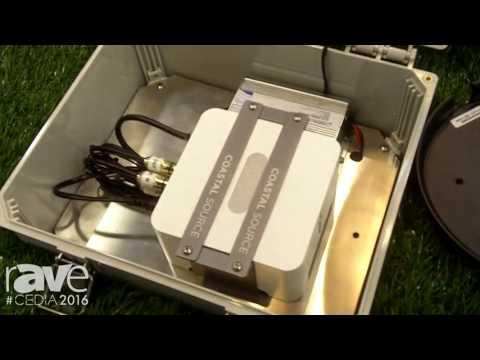 CEDIA 2016: Coastal Source Intros CAS Outdoor Audio System and Bollard Speaker