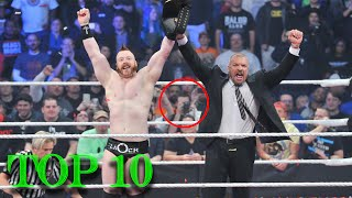 Top 10 WWE Money In The Bank Cash Ins