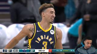 FlightReacts PACERS at HORNETS | FULL GAME HIGHLIGHTS | October 20, 2021!