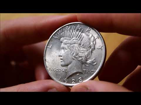 The Peace Dollar - In Focus Friday - Episode 57!