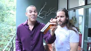 Steve-O Smashes Beer Bottle Over His Head (ft. Chris Pontius)