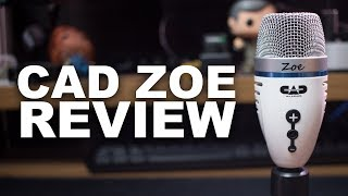 cAD Audio ZOE USB Mic Review / Test