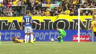 Young Boys - Luzern 4:1 14.05.2017
