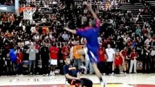 James White (Dunk #3) - 2009 NBA D-League Dunk Contest Video