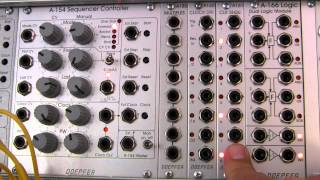 Doepfer A-160-1/A-161 Clock Divider and Clock Sequencer Basics