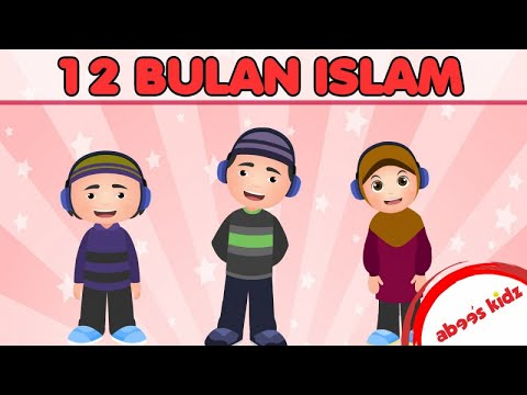 Abee's Kidz - 12 Bulan Islam | Kids Song | Kids Videos | Kids Channel