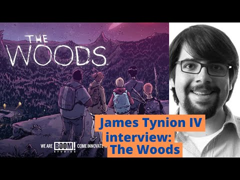 James Tynion IV interview: Creating The Woods