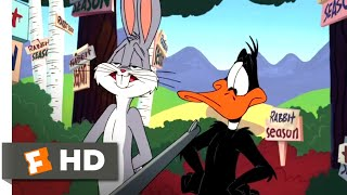 Looney Tunes: Back in Action (2003) - Bugs Bunny vs. Daffy Duck Scene (1/9) | Movieclips