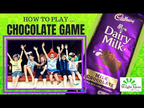 THE CHOCOLATE GAME for Kids Church, Youth Group, School, Camps, Birthdays & Christmas Parties