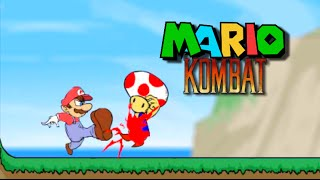 MARIO FIGHTING GAME!?  [MARIO COMBAT / DELUXE]
