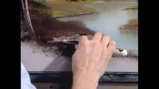 Bob Ross: The Joy of Painting - An Oval Vignette