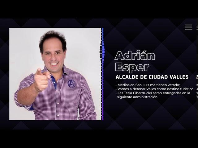 Adrián Esper, sobre la reactivación económica en Ciudad Valles