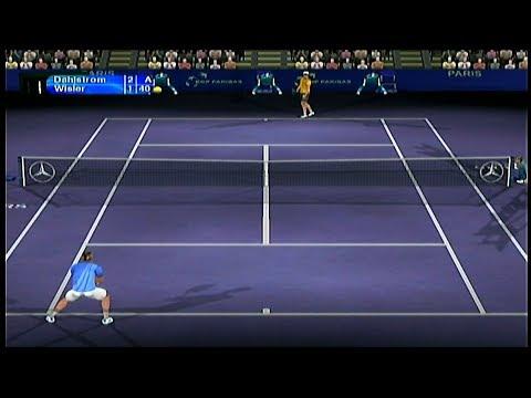 Tennis Master Series 2003 Gameplay