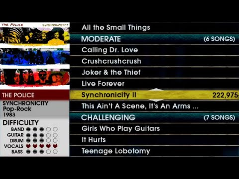Download I ported the Rock Band track pack discs into RB2 for PS2! [also Synchronicity II FC]