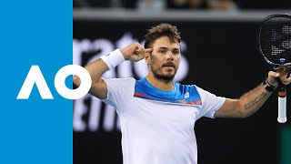 Andreas Seppi vs Stan Wawrinka - Match Highlights (2R) | Australian Open 2020