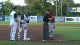 Burriss triples in two for Chiefs