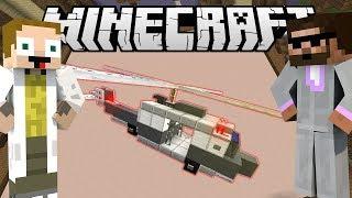 [GEJMR] Minecraft - BuildBattle - Rytíř a 🚁 Helikoptéra!