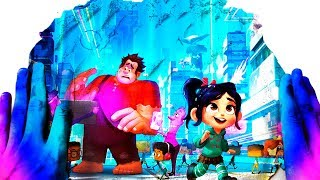 Rainbow Magic Hands Ralph Breaks the Internet Kinetic Sand Magic Video With Mad Mattr Learn Colors