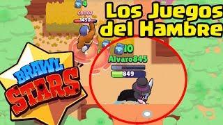 LOS JUEGOS DEL HAMBRE EN BRAWL STARS   TheAlvaro845