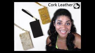 Meet the Wristlets | Vegan Cork Leather | DESIGNER FASHION