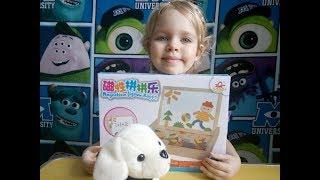 Развивающий Магнитный Конструктор Распаковка Наборы игрушек для детей