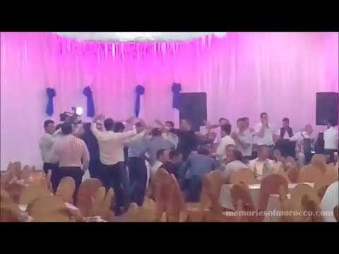 Men dancing at Azerbaijani / Azeri wedding, Ganja, Azerbaijan