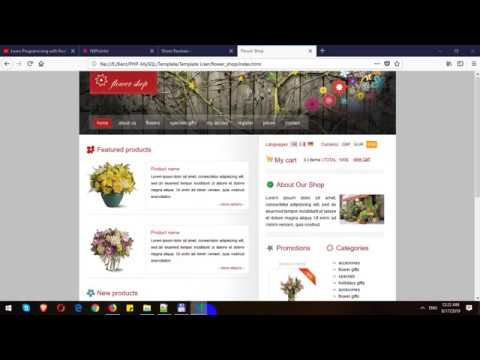 Building Flower Shop Website Template with React.js thumbnail