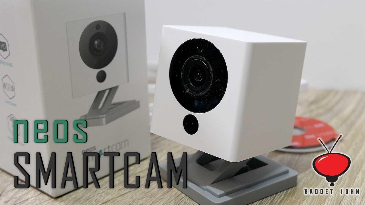 visione notturna Garanzia Regno Unito set di 2 pezzi Neos SmartCam Twin Pack funziona con Alexa 2 vie audio Smart Camera Telecamera di sicurezza 1080p Full HD