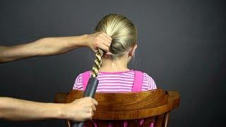 Как с помощью пылесоса сделать очень красивую укладку волос!)))