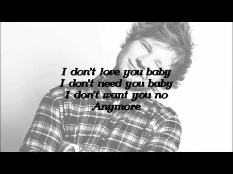 Ed Sheeran - The Man [Lyrics]