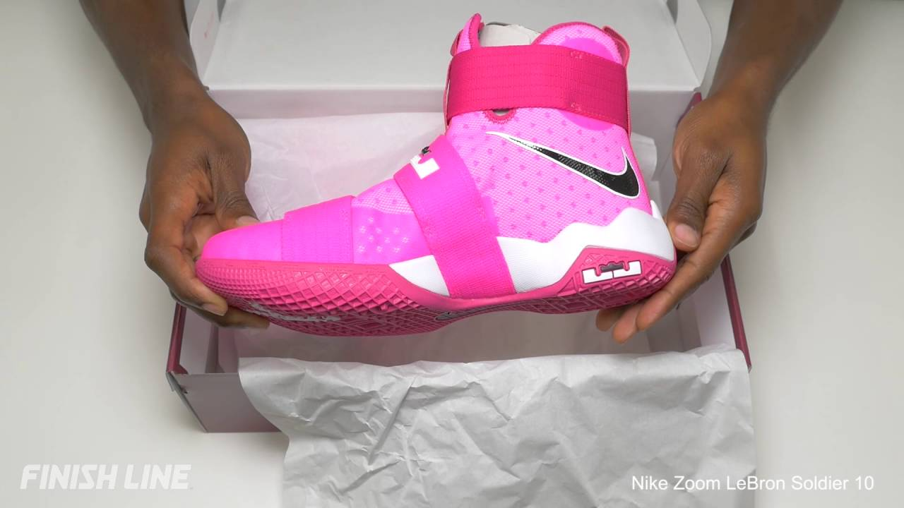 ae4e0e3bde6 Nike LeBron Soldier 10 Unboxing - YouTube