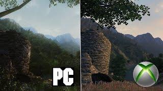 TES IV Oblivion - PC 2018 Modded vs Xbox 360 Comparison