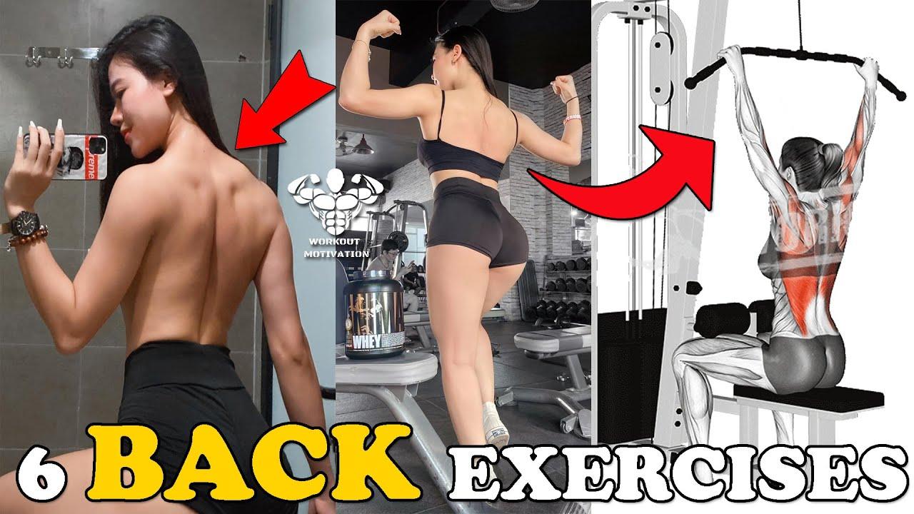 6 Effective Back Exercises Fast For Women