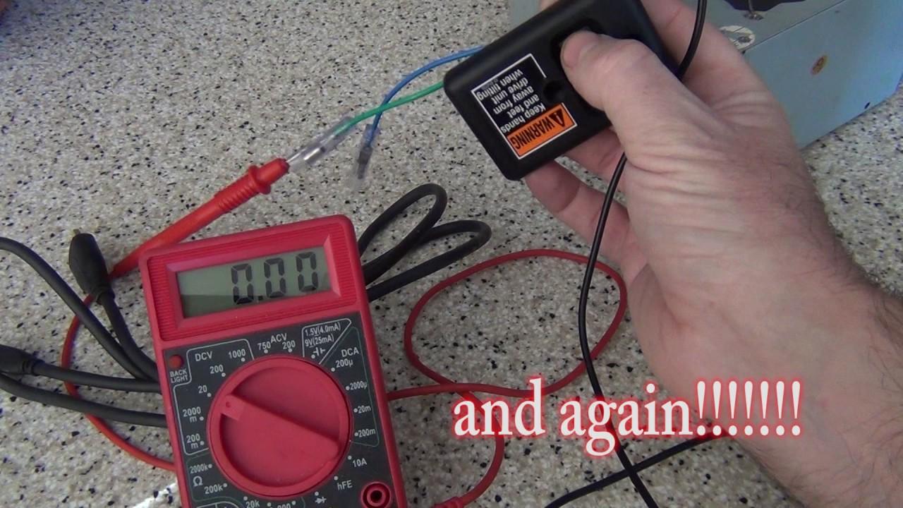 Mercruiser Tilt Switch Problem