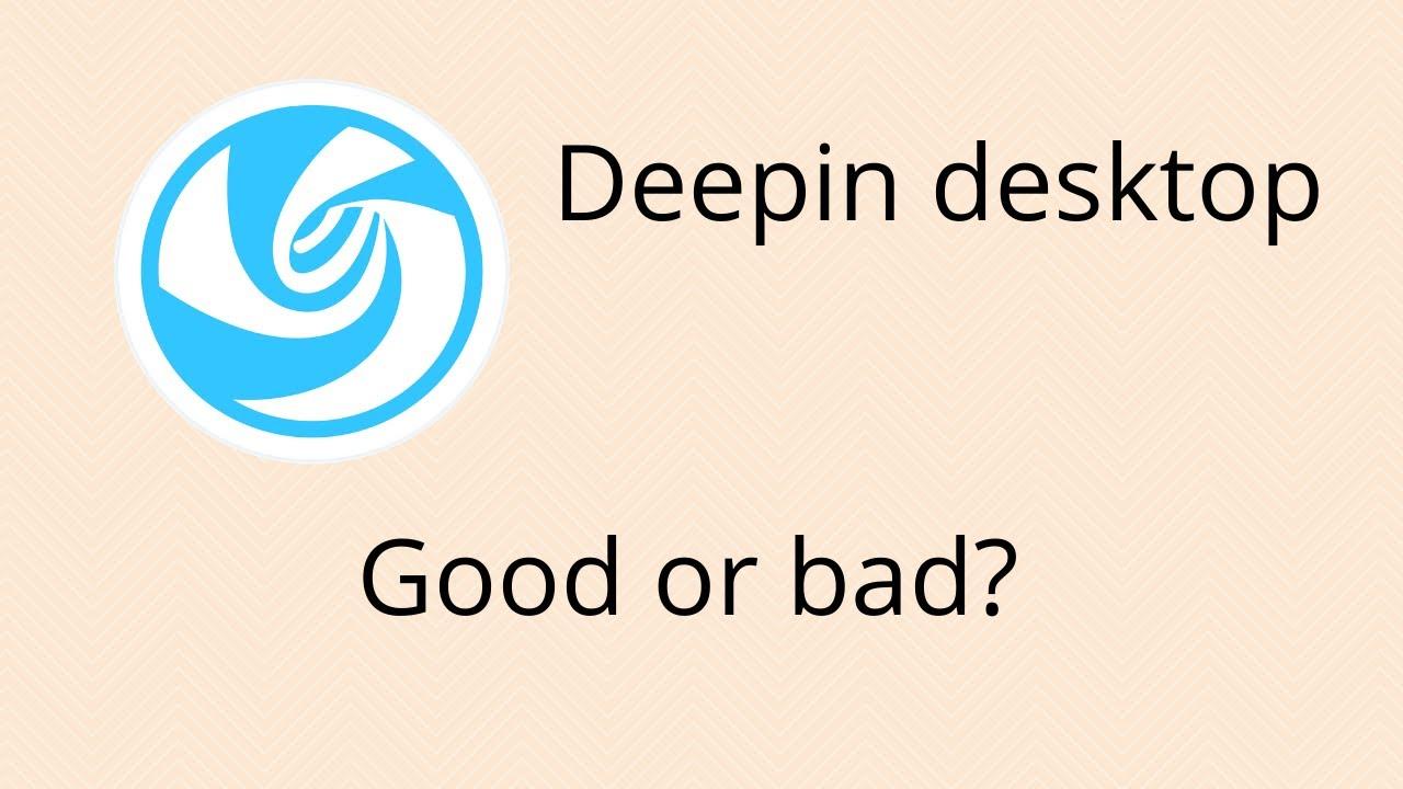 ¿Realmente Deepin arruinó todo?