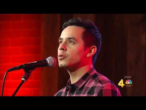 David Archuleta @ Today in Nashville - FULL - Interview & Perf NUMB (Must-Watch!)