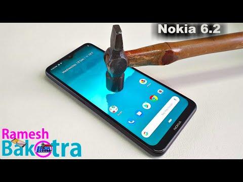 Nokia 6.2 Screen Scratch Test Gorilla Glass 3