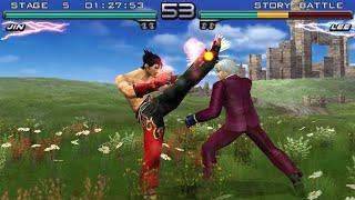 [TAS] Tekken 5 - Dark Resurrection - Jin Kazama (PSP)