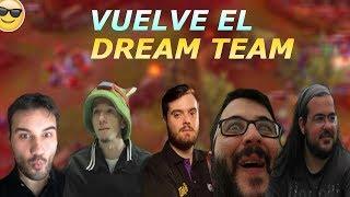 Alexelcapo, Ibai, Knekro, Revenant y Felipez360 Vuelven a Jugar al LOL - DREAM TEAM Mejores Momentos
