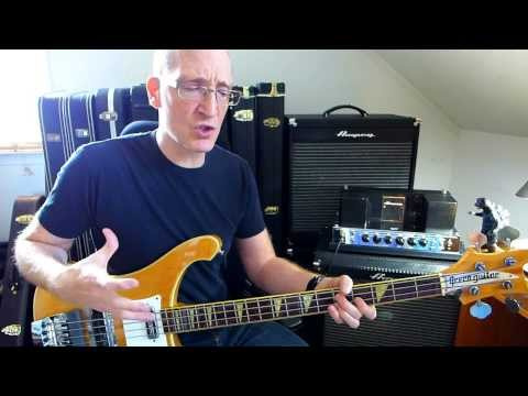 Classic Ampeg B-15/60's Rickenbacker Bass Tones: Garth Fielding (HD Vid)