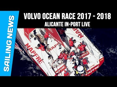 Alicante In-Port Live - Volvo Ocean Race 2017-2018