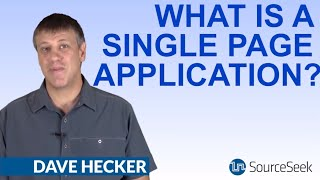 What Is A Single Page Application?