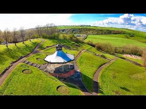 drone around lanarkshire