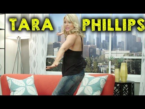 TARA PHILLIPS DOES 100 PUSHUPS