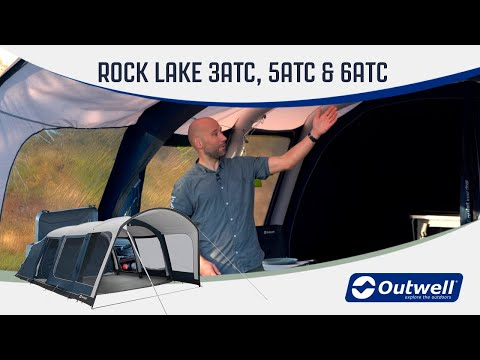 Rock Lake 3ATC, 5ATC & 6ATC - Inflatable Polycotton Air Tent (2020) | Innovative Family Camping