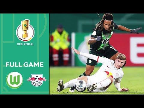 VfL Wolfsburg Vs. RB Leipzig | Full Game | DFB-Pokal 2019/20 | 2nd Round