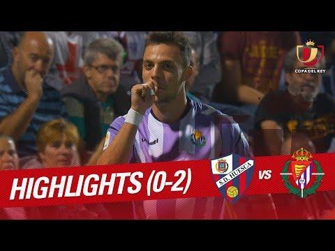 Resumen de SD Huesca vs Real Valladolid (0-2)