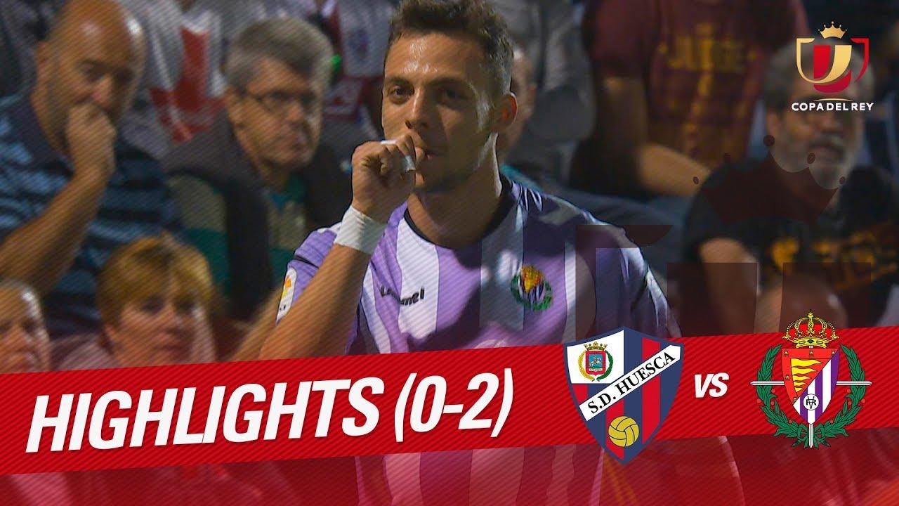 SD Huesca 0-2 Real Valladolid