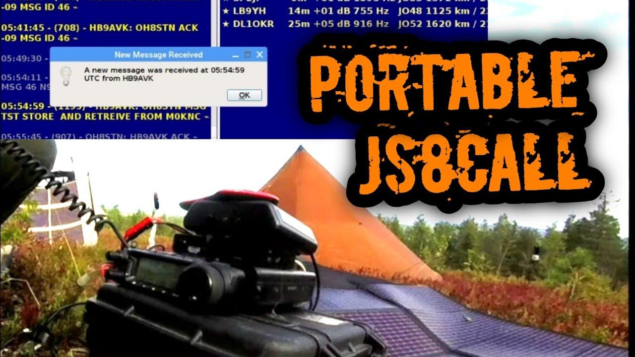 Portable Ham Radio & JS8Call